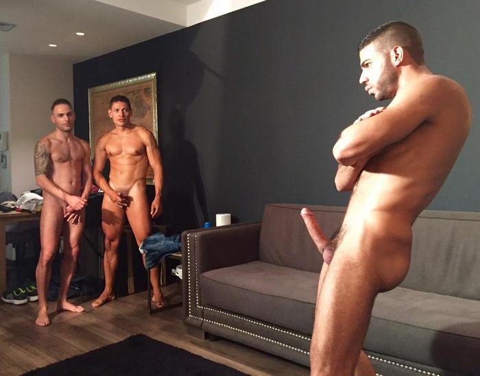 Aitor Bravo Hugo Arenas John Rodriguez 5