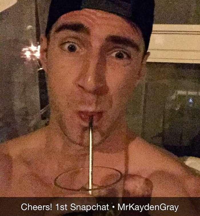 Kayden Gray Gay Porn Star Snapchat