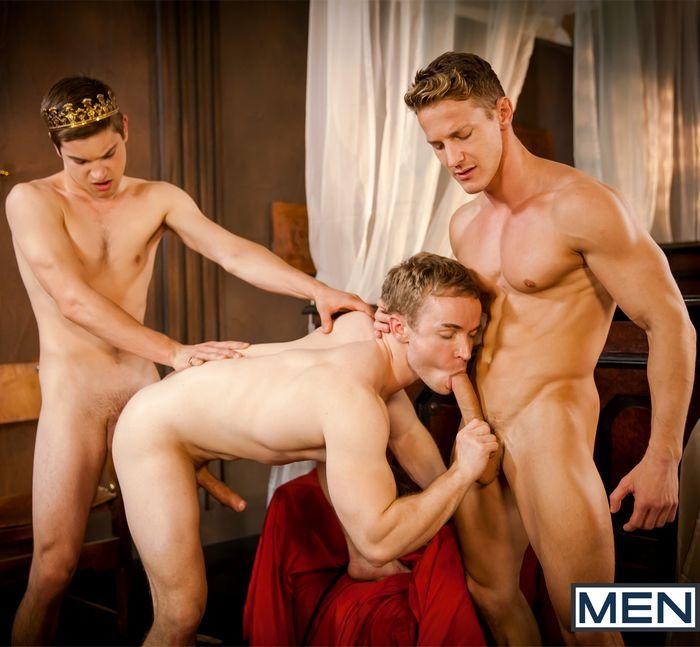 johnny Rapid Darius Ferdynand Gabriel Cross Gay of Thrones Porn Parody