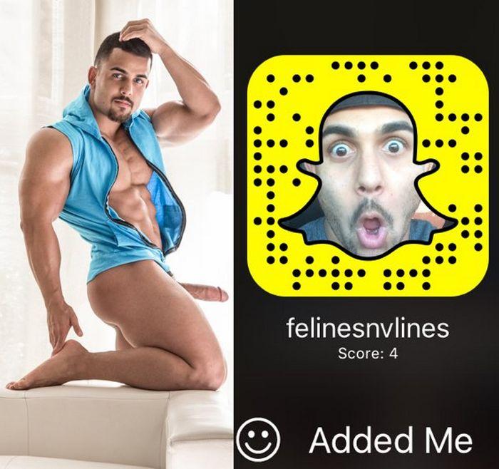 Benji Fratmen Gay Porn Star Snapchat Snapcode