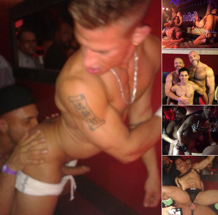 HustlaBall Berlin 2015 Gay Porn Sex Shows