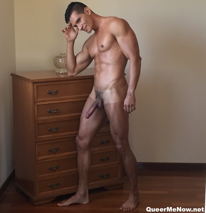 Dario Len Introducing Hot  Hunky Colombian Porn Stud-3706