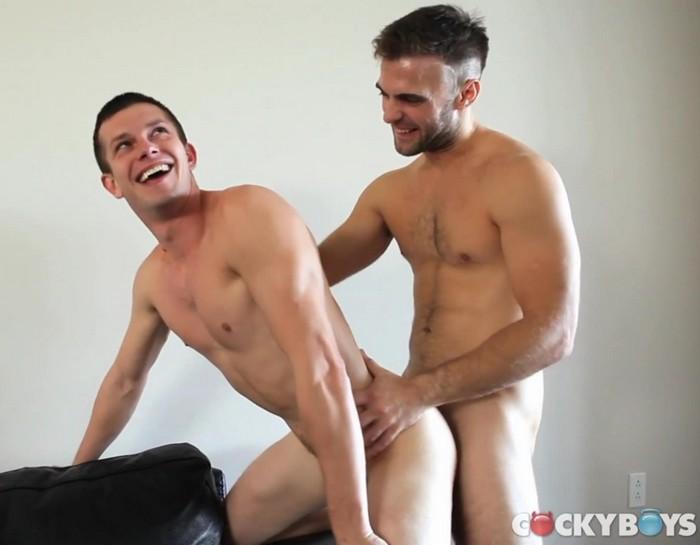Gay Porn Mickey Knox Gabriel Clark CockyBoys Happy Bottom