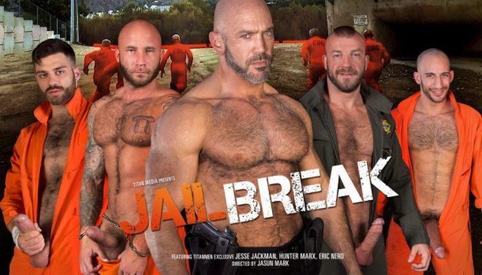 JailBreak TitanMen Gay Porn Jesse Jackman Tommy Defendi Drake Jaden Hunter Marx Eric Nero