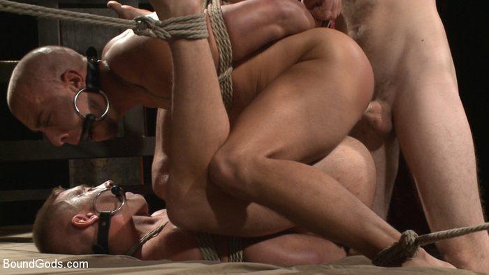 Scott Riley Eli Hunter Christian Wilde Gay Porn KinkMen 3