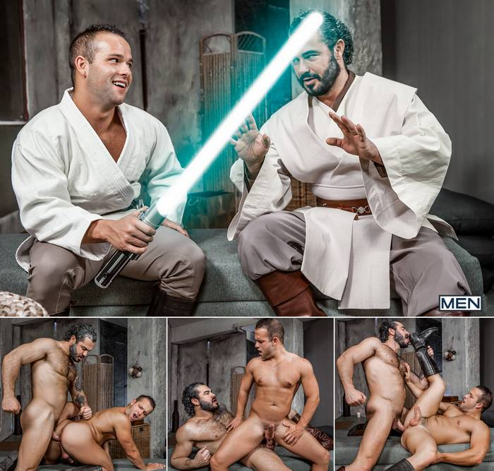 Star Wars Gay XXX Parody Luke Adams Jessy Ares Obi-Wan Luke Skywalker Porn