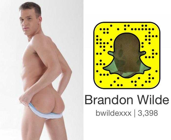 Brandon Wilde Gay Porn Star Snapchat Snapcode