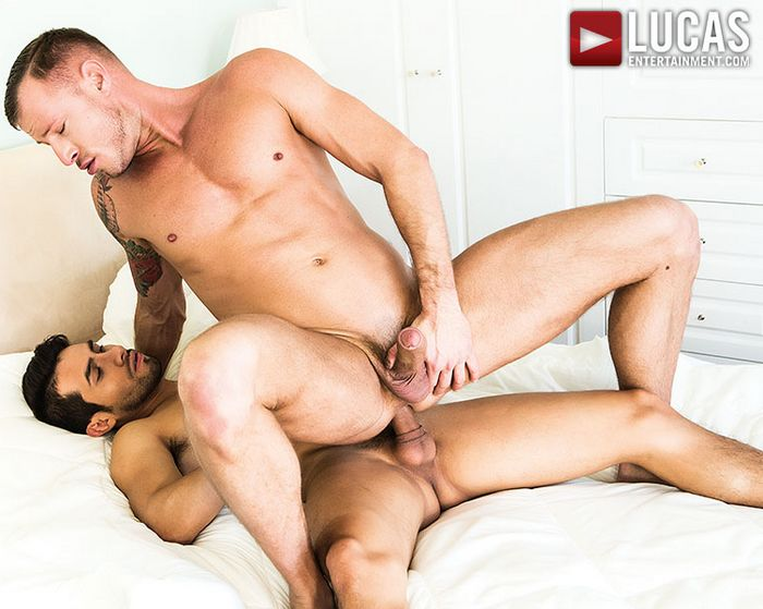 Derek Allan Gay Porn Star Logan Rogue Bareback Sex