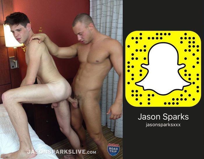 Jason Sparks Live Gay Porn Snapchat Snapcode