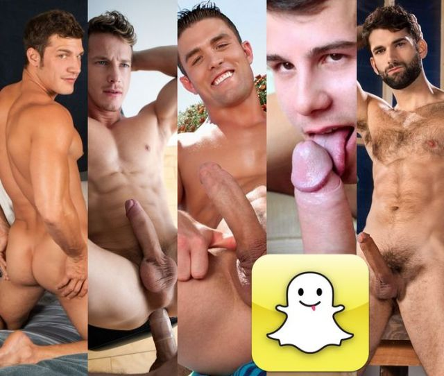 Gay Porn Stars Hot Guys To Follow On Snapchat Update