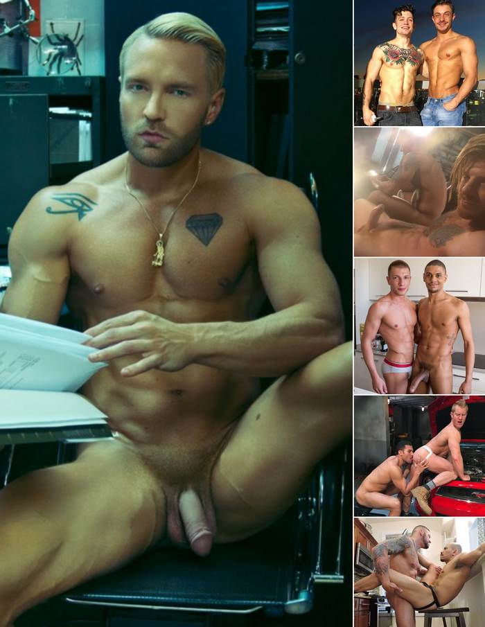 Gay Porn Stars Will Wikle Sebastian Kross Carter Dane Bogdan Gromov JohnnyV Hugh Hunter