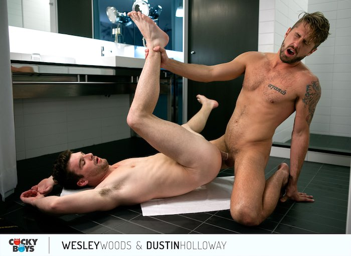 Wesley Woods Gay Porn Star Dustin Holloway CockyBoys 4