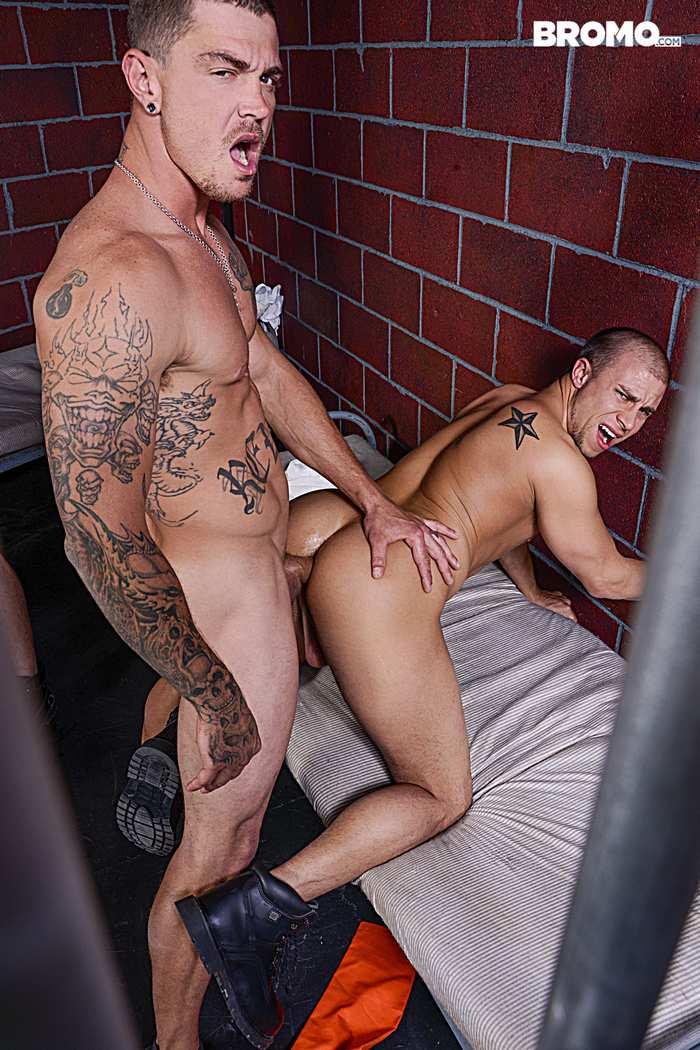 Gay Porn Prison Bareback Orgy 5