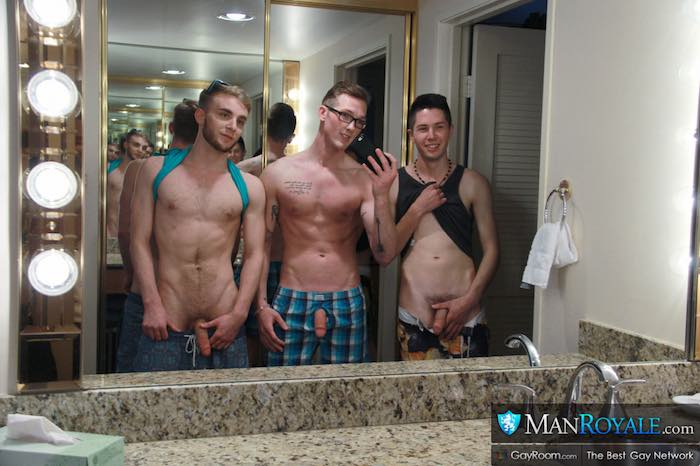 Straight Guys Spring Gay Porn Kyle Ryder Seth Stark Jackson Cooper 2