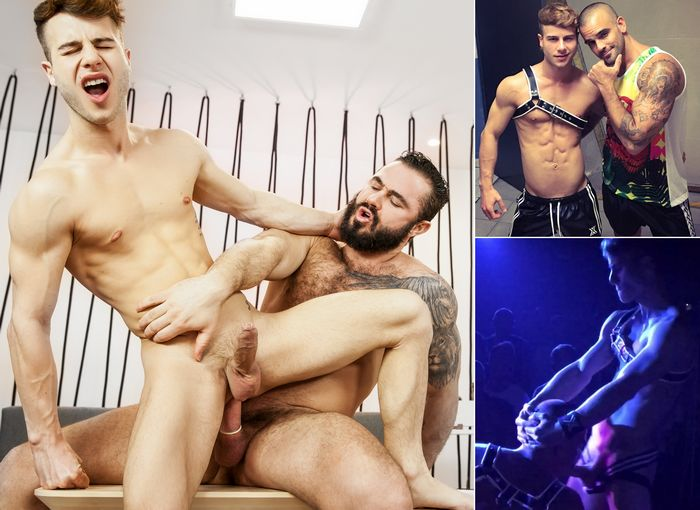 Allen King Gay Porn Star Jessy Ares Damien Crosse