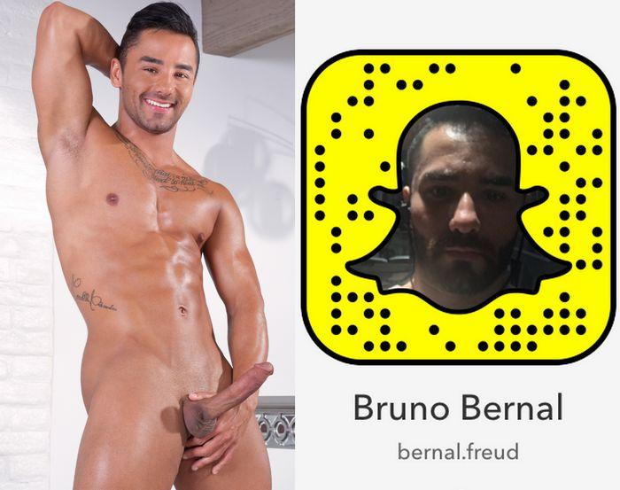 Bruno Bernal Gay Porn Star Snapchat Snapcode
