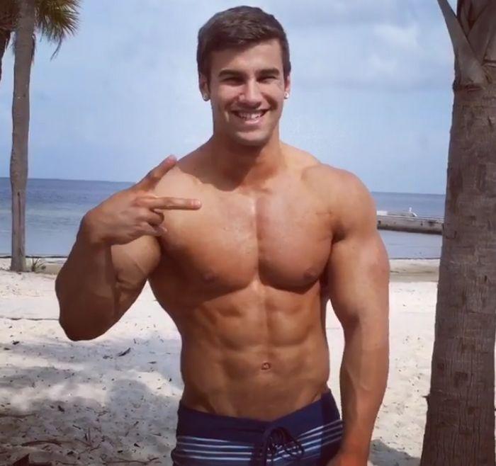 Stu SeanCody Muscle Gay Porn Stat Jake B All American Guys Beach