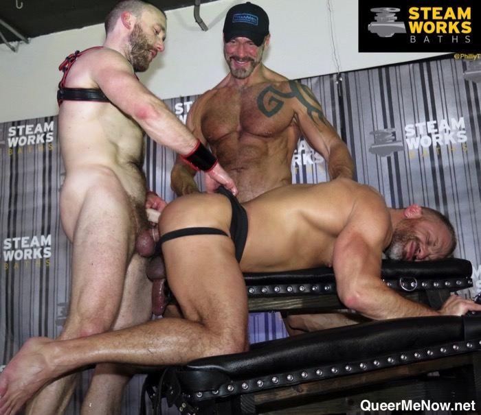 TitanMen Dallas Steele Dirk Caber Nick Prescott Gay Porn Star Live Sex Show
