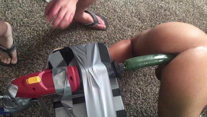 SketchySex Fuck Machine Zucchini Sex Toy