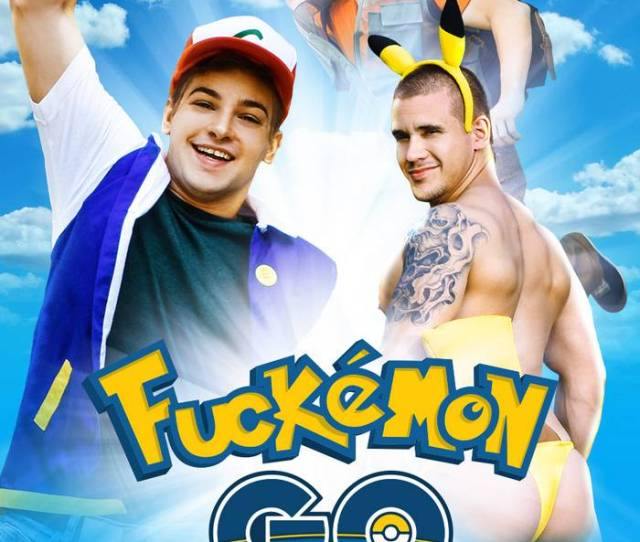 Fuckemon Go Gay Xxx Parody Pokemon Gay Porn Johnny Rapid Will Braun Adam Bryant