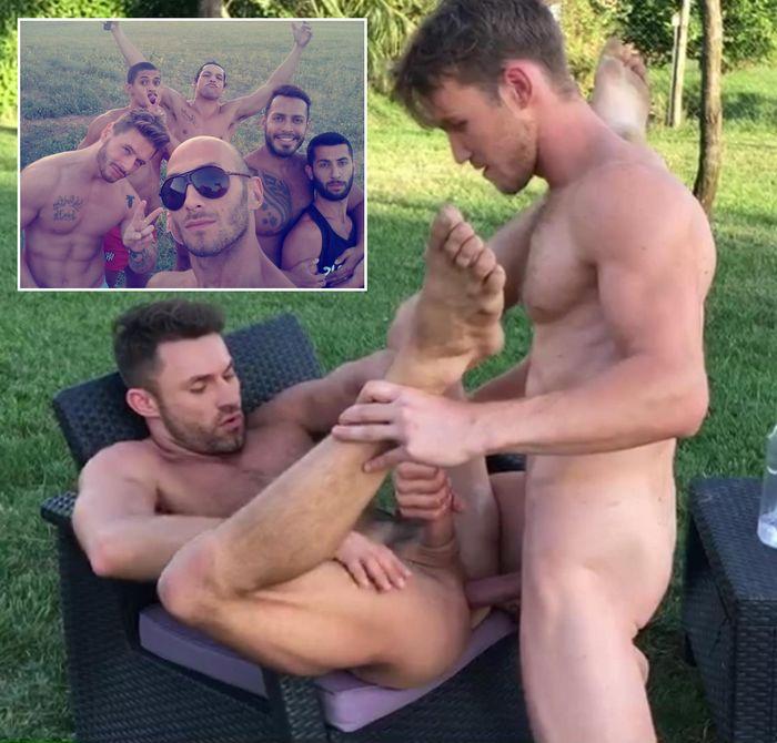 Gay Porn James Castle Marq Daniels LucasEnt Barcelona Spain Bareback Sex