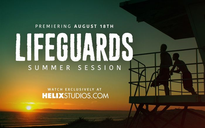 Lifeguards Summer Session Twink Gay Porn