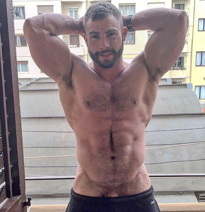 Hot gay pornstar
