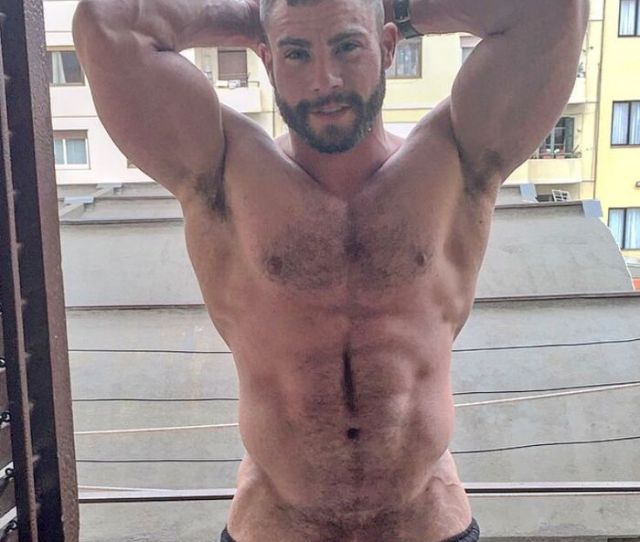 Diego Reyes Gay Porn Star Muscle Hunk Hairy