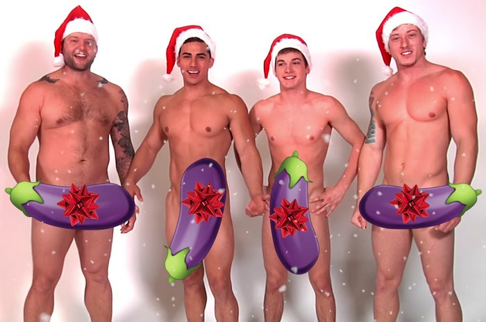 Gay Porn Stars Merry Christmas Johnny Rapid Topher DiMaggio Tom Faulk Colby Jansen