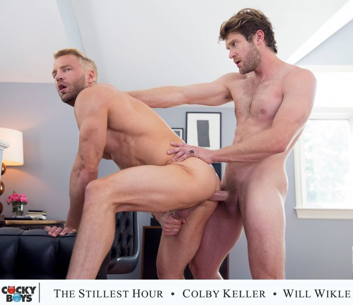 Will Wikle Gay Porn Debut CockyBoys Colby Keller The Stillest Hour