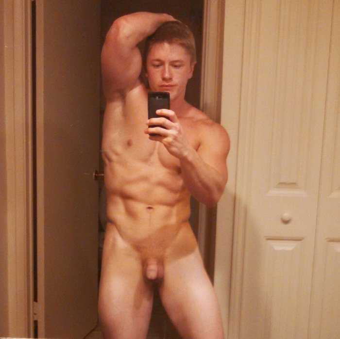 Chris Blades Gay Porn Star Naked Selfie