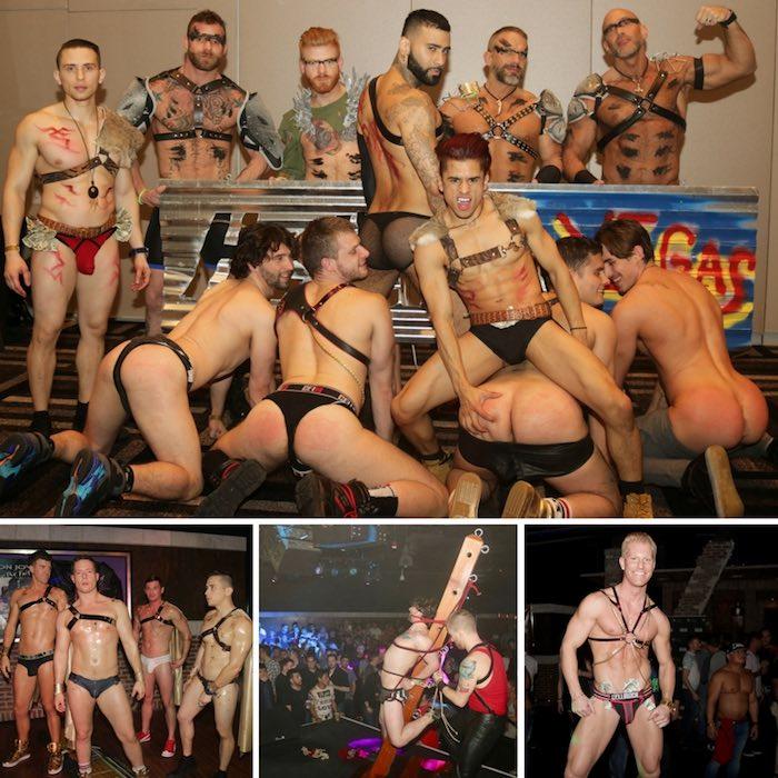 Gay Porn Stars HustlaBall Las Vegas 2017