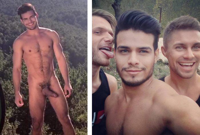 Rico Marlon Gay Porn Star Big Dick Handsome