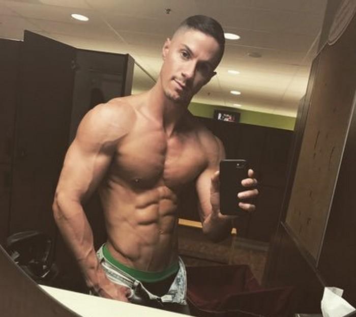 Skyy Knox Gay Porn Star Naked Selfie