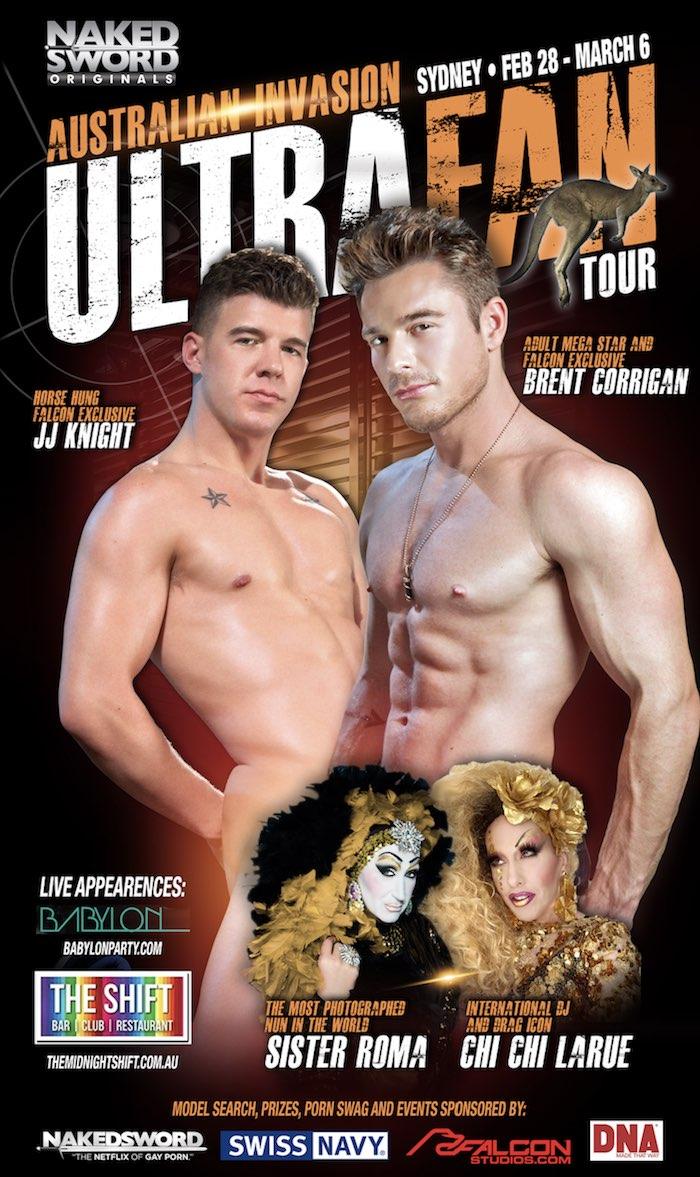 Brent Corrigan JJ Knight Gay Porn Star Australia Tour Model Search