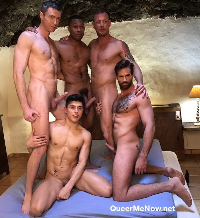 Gay Porn Orgy Sean Xavier Ken Summers Logan Rogue Dani Robles Ralph Novak