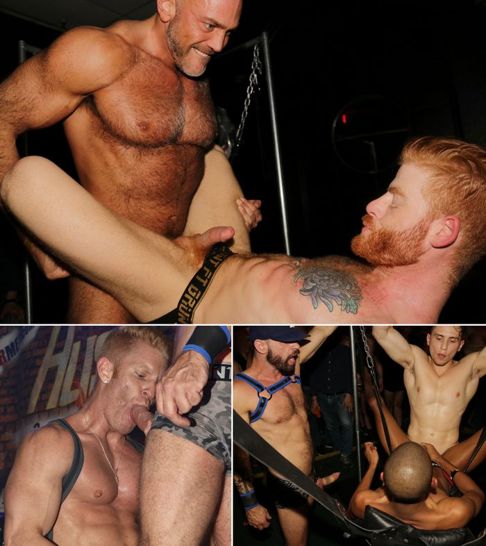 HustlaBall Las Vegas Gay Porn Stars Live Sex Show VIP Party 2017 Jessse Jackman Bennett Anthony Dante Martin Johnny V