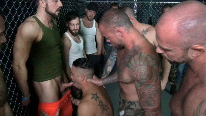 Trey Turner Bareback Gang Bang RawFuckClub Behind The Scenes