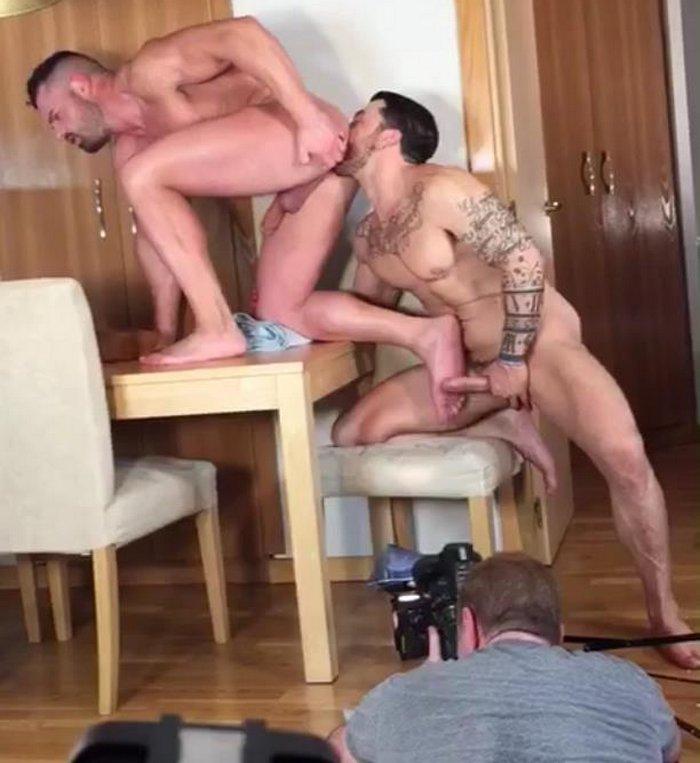 Gay Porn Behind The Scenes Kristen Bjorn Gabriel Lunna Sergio Moreno