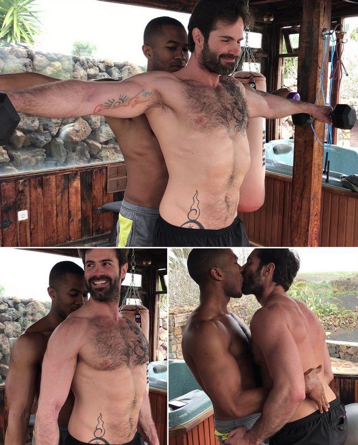 Gay Porn Star Sexy Workout Dani Robles Sean Xavier