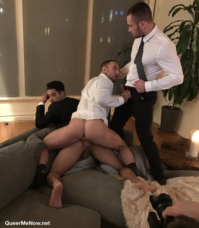 Gay Porn Behind The Scenes  10-Minute Video From The Set -4877