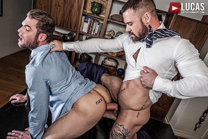 Ace Era Gay Porn Sergeant Miles Bareback Sex