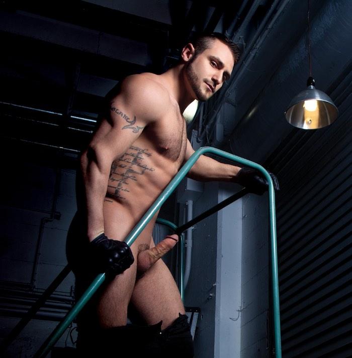 Blake Riley Gay Porn Star Muscular Naked