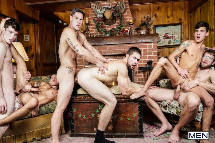 Gay Porn Orgy Aspen Colby Keller Griffin Barrows Noah Jones Vadim Black Xander Brave