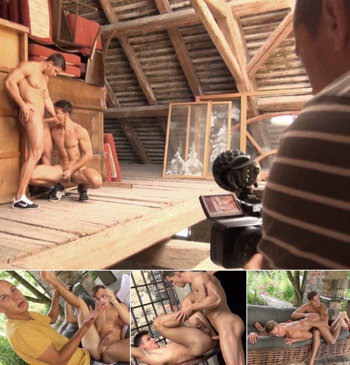 BelAmi Gay Porn Behind The Scenes Kris Evans Nils Tatum Hoyt Kogan