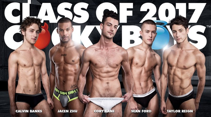 CockyBoys Exclusive Gay Porn Stars Calvin Banks Jacen Zhu Cory Kane Sean Ford Taylor Reign
