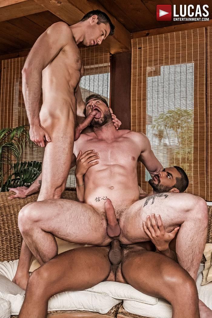 Gay Porn Ace Era Lucas Fox Ralph Novak Bareback Sex