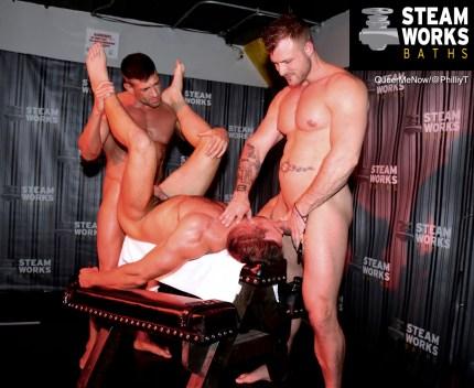 Gay Porn Bruce Beckham Alex Mecum Austin Wolf Live Sex Show-48