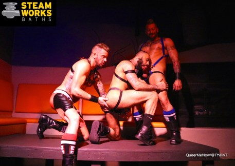 Gay Porn Hugh Hunter Dolf Dietrich Rikk York Live Sex Show-4
