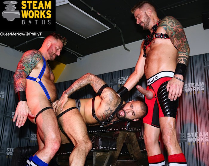 Gay Porn Hugh Hunter Dolf Dietrich Rikk York Live Sex Show Steamworks